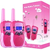 Selieve Toys for 3-12 Year Old Girls, Walkie Talkies for Kids 22 Channels 2 Way Radio Toy with Backlit LCD Flashlight, 3…