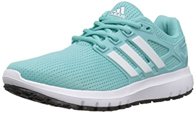Adidas Women's Energy Cloud V Running Shoe Grey Two/White/Sun Glow 9 B(M) New