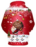 Hgvoetty Unisex Ugly Christmas Pullover Sweater