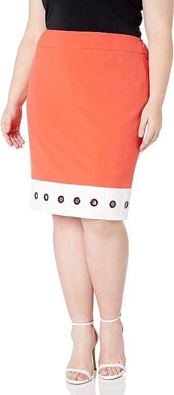 NINE WEST Womens Plus Size JKT W//Grommets 1