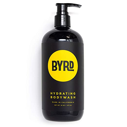BYRD Hydrating Body Wash - Red Algae, Green Tea, Aloe Vera, Sea Kelp, Vitamin B, Mineral Oil Free, Paraben Free, Phthalate Free, Sulfate Free, Cruelty Free, Tropical Coconut Scent, 16 Fl Oz