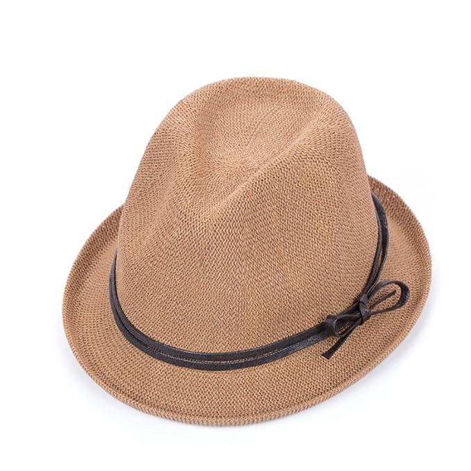 43bb776f83cfd Sombrero De Protección Solar De Moda Sombreros Pequeños Sombrero De Paja  Respirable Sombrero De La Playa Al Aire Libre-A un tamaño  Amazon.es  Ropa  y ...