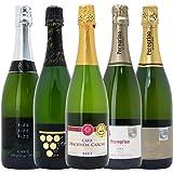 本格シャンパン製法の泡5本セット((W0P508SE))(750mlx5本ワインセット)