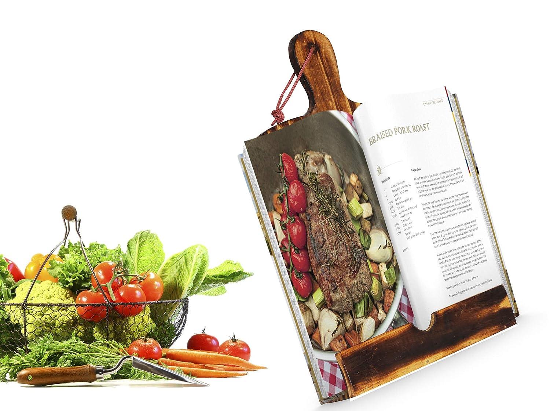 Leggio per libri di cucina e libri di ricette