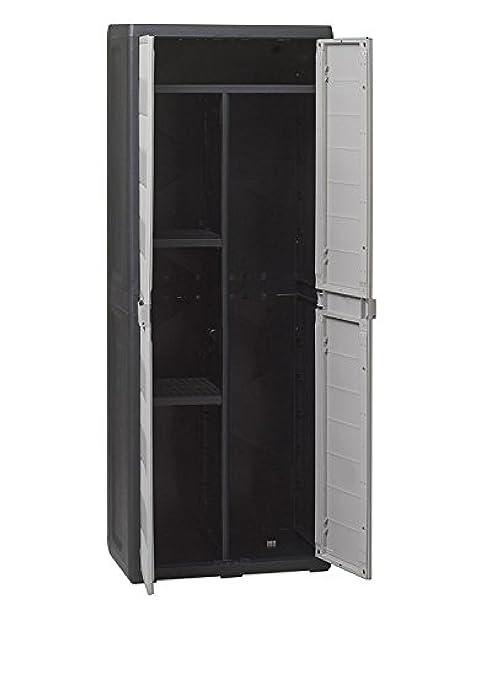 Armadio Portascope In Resina.Armadio Porta Scope In Resina Elegance L65 X P38 X H171 Cm Mobile