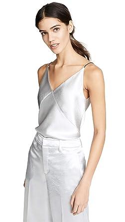 00f352847636 Amazon.com: Vince Women's V Neck Bias Cami: Clothing