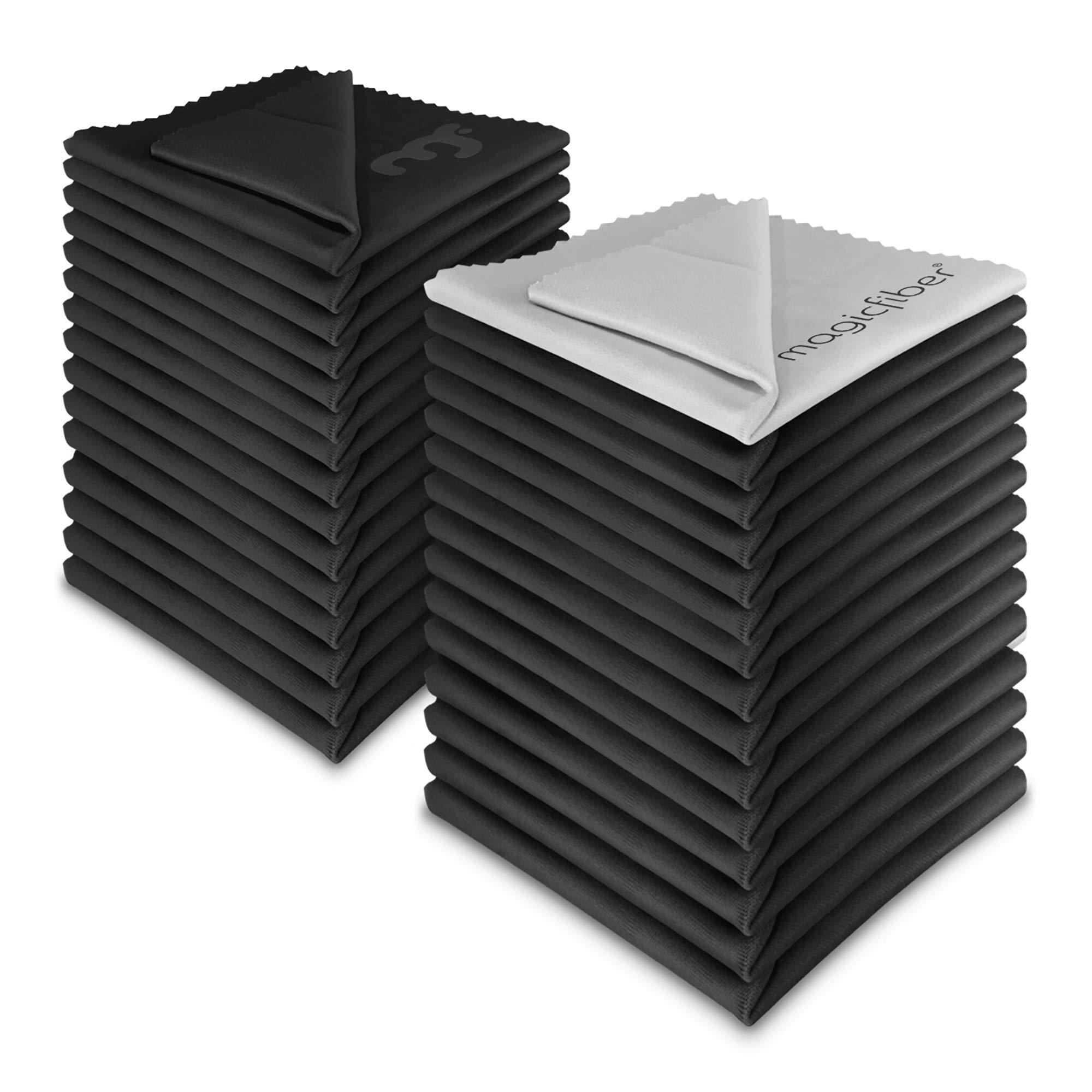 MagicFiber Microfiber Cleaning Cloths, 30 PACK by MagicFiber