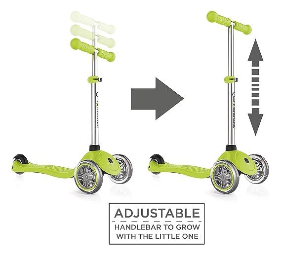 Amazon.com: Scooter Globber de 3 ruedas de altura ajustable ...