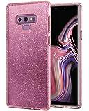 Spigen Samsung Galaxy Note 9 Liquid Crystal GLITTER cover/case - Rose Quartz