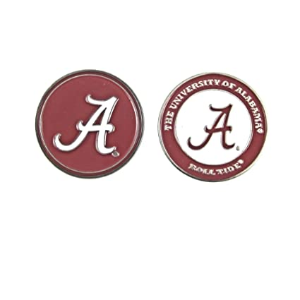 55100ead437 Image Unavailable. Image not available for. Color  Alabama Crimson Tide  Double-Sided Golf Ball Marker