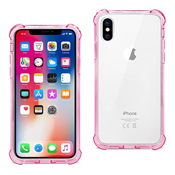 Cases, Covers & Skins Reiko Apple Iphone Xs Max Design Air Cushion Case With Lady In Pink Durable Service Consumer Electronics