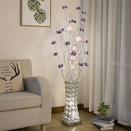 LED Floor Lamp, Rural Decoration Personality Vase Simple Modern ...
