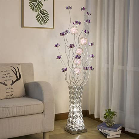 Led Floor Lamp Rural Decoration Personality Vase Simple