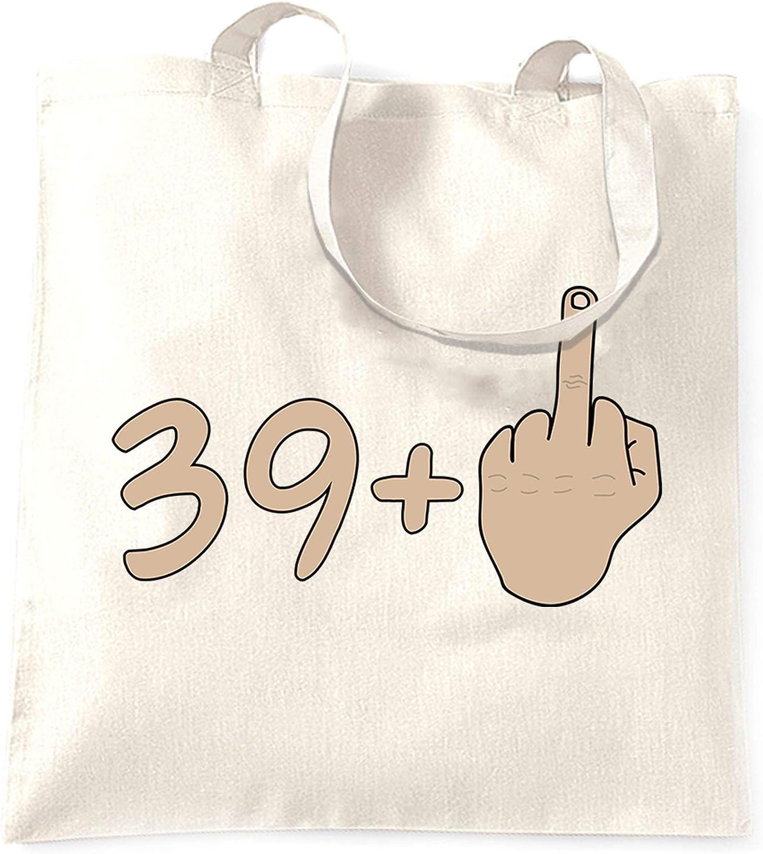 40th Birthday Tote Bag 39 plus 1 gesture