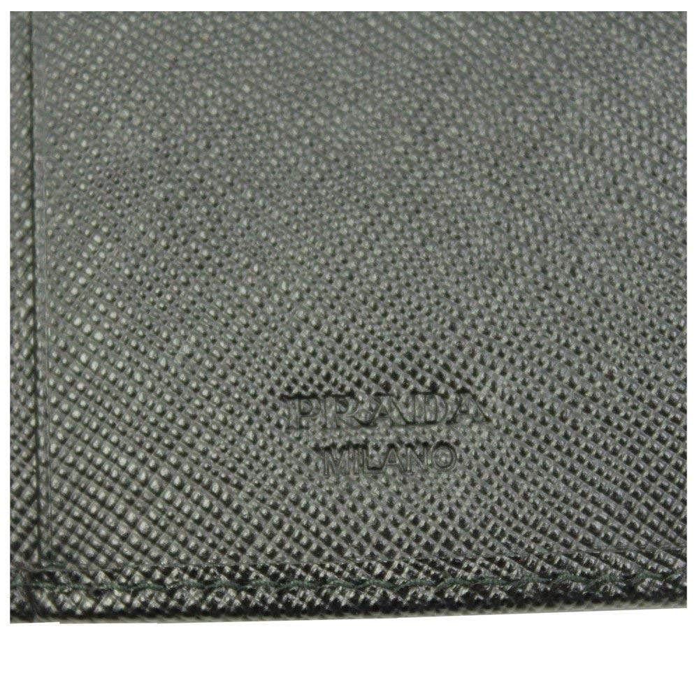 Prada Black Saffiano Leather Key Case 1PG222 Nero by Prada (Image #6)