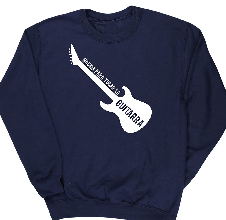 HippoWarehouse Nacida Para Tocar La Guitarra (Eléctrica) jersey sudadera suéter derportiva unisex niños niñas: Amazon.es: Ropa y accesorios