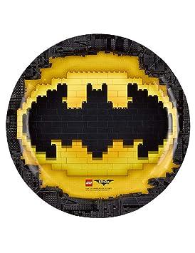 COOLMP - Juego de 12 Platos de cartón con diseño de Batman ...