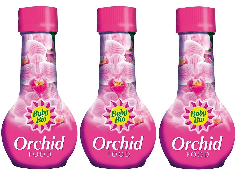3 x Baby Bio Orchid Food Feed Fertilizer 175Ml
