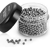 Ecooe 1000 Perline per pulizia, riutilizzabili, in acciaio inox, per decanter, bottiglie di vino e altri oggetti in vetro