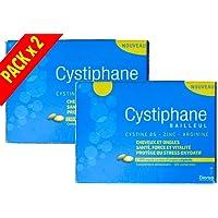 Cystiphane Bailleul - Cystine B6 - Zinc - Arginine BAILLEUL - Integratore alimentare Cystiphane Biorga per Capelli e Unghie in piena salute - 2 x 120 compresse