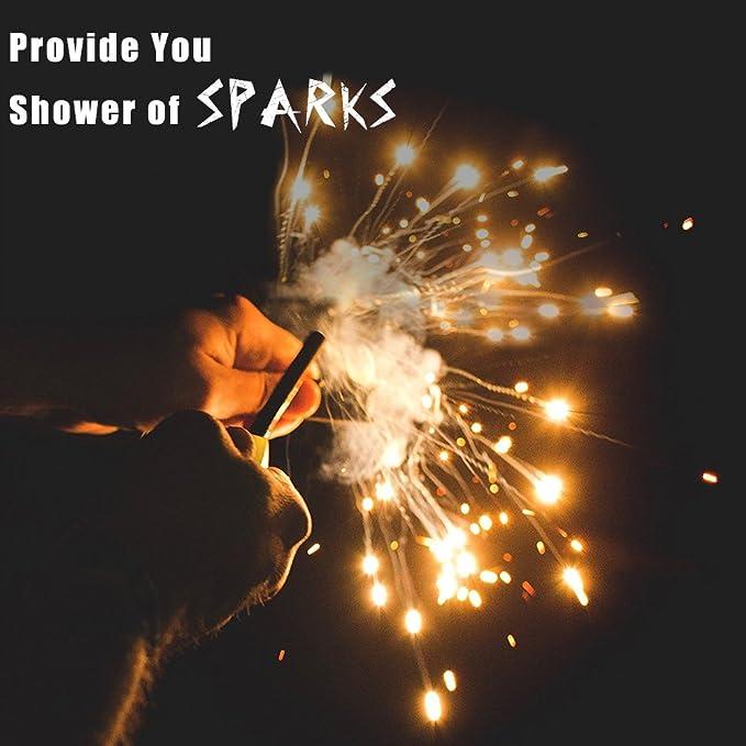 MINI Fireball Flint and Striker//Ferrocerium//Fire Lighting//Sparks