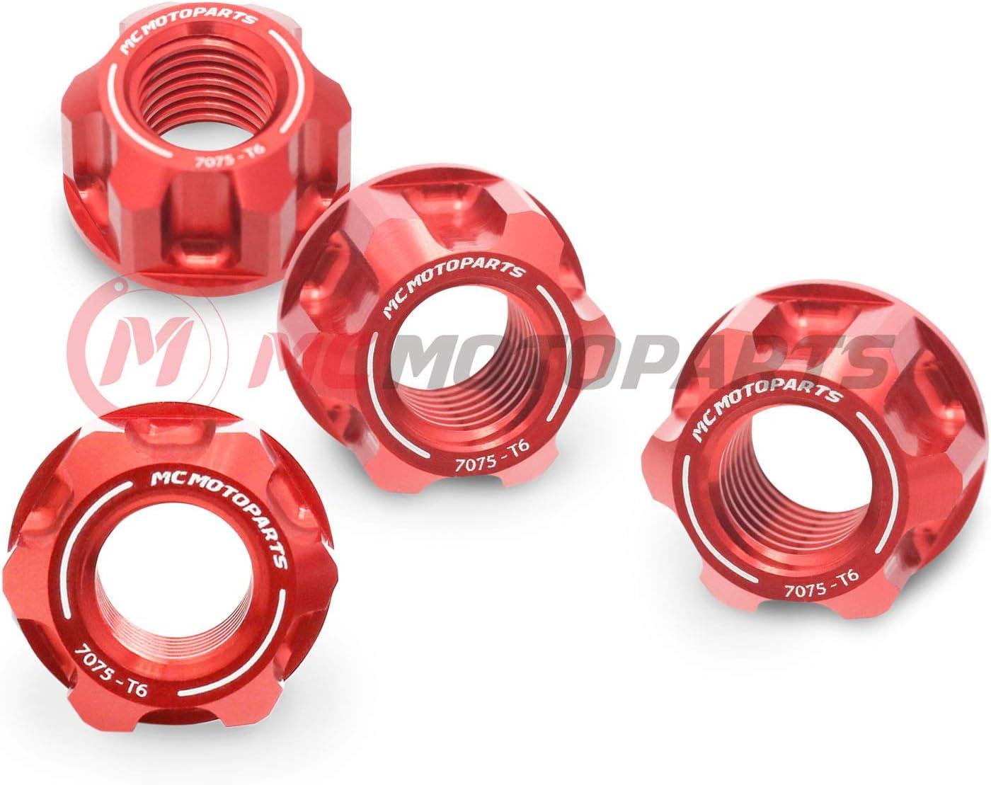 Grom 125 SF MC MOTOPARTS Red CNC Rear Sprocket Nuts For Honda MSX 125 GROM 2014-2020 Monkey 125 Z125MA 18 19 2020
