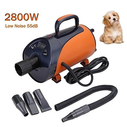 Paneltech 2800W Secador de Pelo para Mascotas Caninas Calentadora Perros Gatos Mascotas Secador de Cabello con