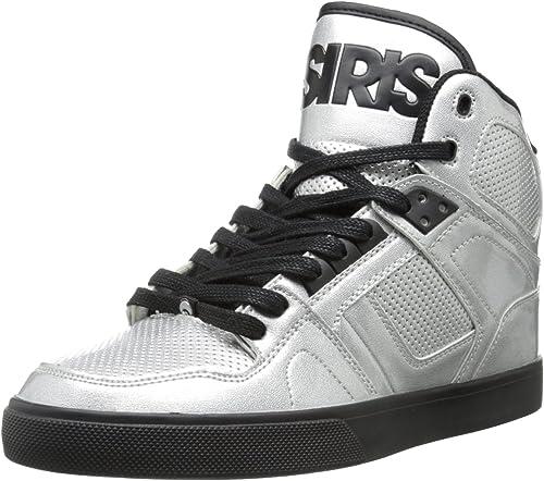 White New in Box Osiris Boy/'s Youth NYC 83 Black Splat High Tops