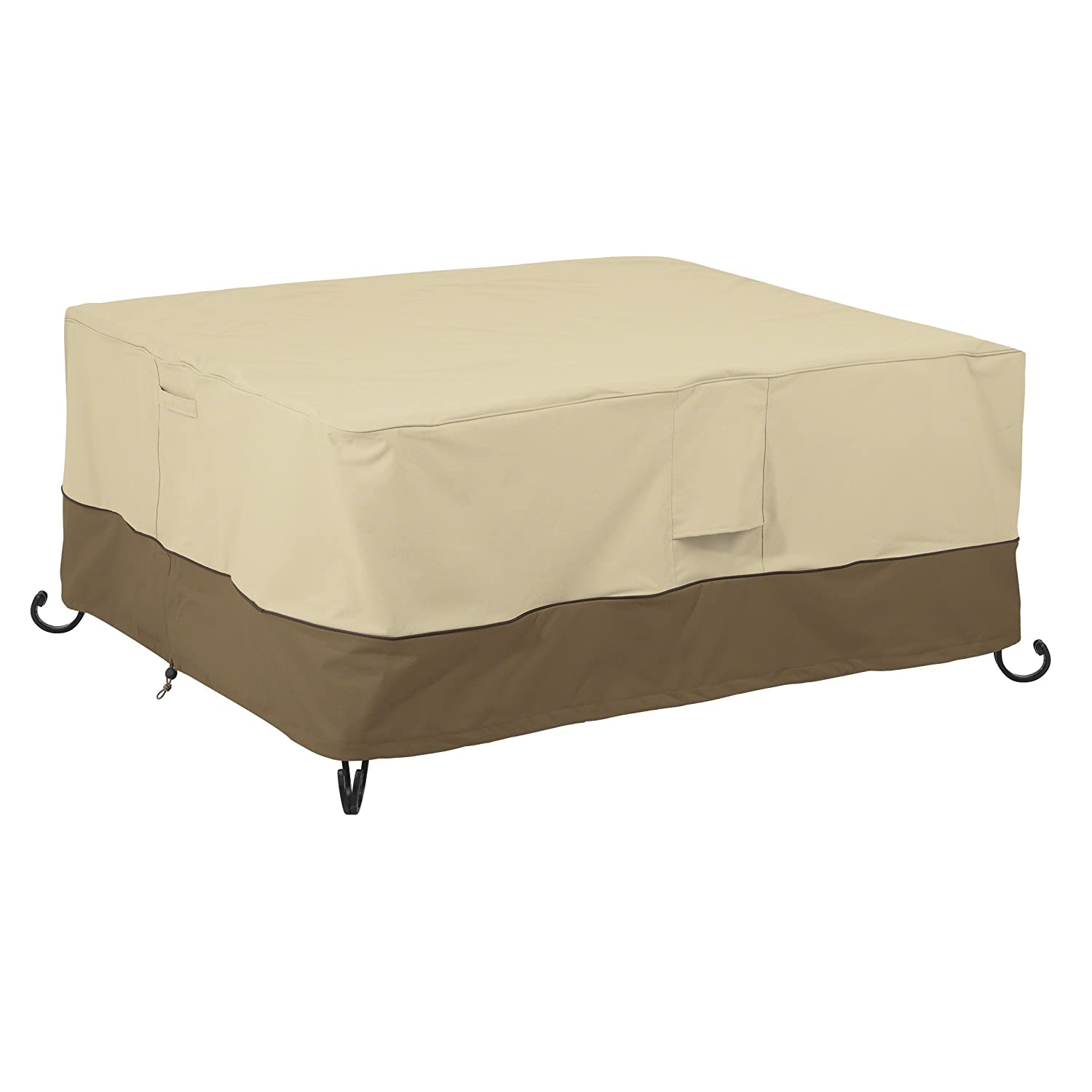 Classic Accessories 55-619-011501-00 Veranda Rectangular Fire Pit/Table Cover, 40-Inch