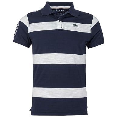 BLEND Men´s Polo Shirt Navy, tamaño:3XL: Amazon.es: Ropa y accesorios