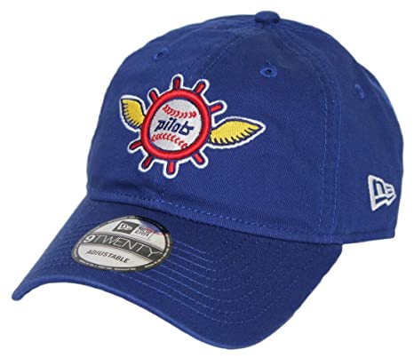 d7c457b87d1 Image Unavailable. Image not available for. Color  New Era Seattle Pilots  MLB 9Twenty Cooperstown Adjustable Blue Hat