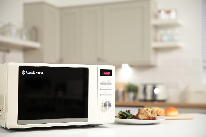 Russell Hobbs RHM2064R Cream Digital Microwave