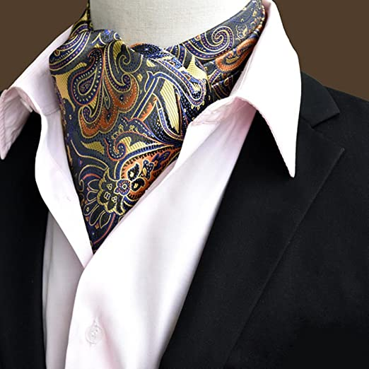 LIXIONG Hombres Corbata Bufanda Camisa Bufanda Caballero de ...
