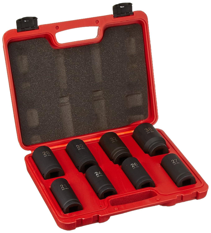 TruePower 8pc 3/4' Metric Heavy Duty Deep Wall Impact Socket Set by TruePower Tools 02-5613