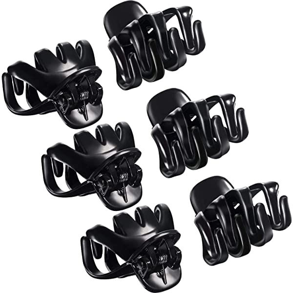 Simple Large Grip Octopus Clip Spider Claw Jaw Clips for Thick Hair Clamps FB