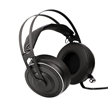 X-200 USB Surround estéreo con cable PC Gaming Headset con micrófono y luz LED