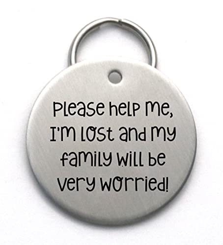 7de1ac4fd95d Image Unavailable. Image not available for. Color: Custom Dog Tag - Please  Help me ...