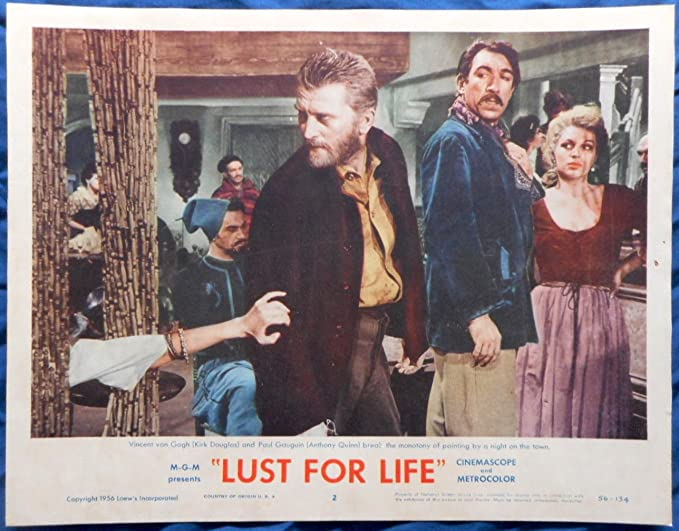 Lust for life Kirk Douglas movie poster print 3