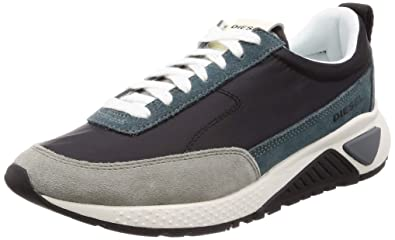 DIESEL S-KB Low Lace Zapatillas Moda Hombres Negro Zapatillas Bajas: Amazon.es: Zapatos y complementos