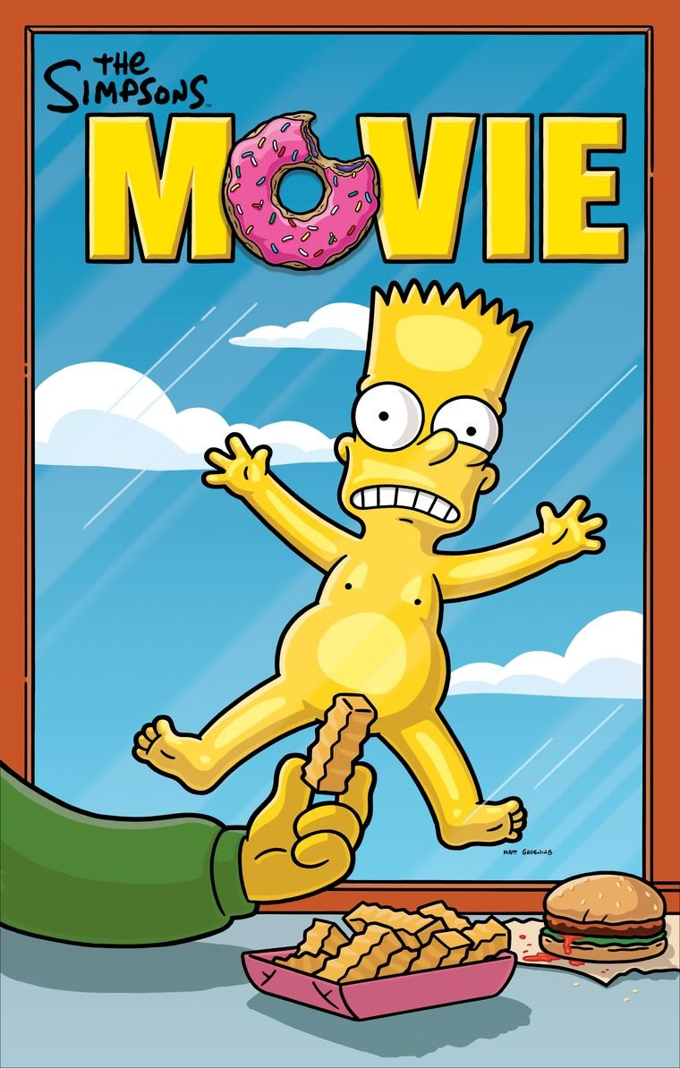 Poster The Simpsons Movie 70 X 45 cmhttps://amzn.to/2R3EgWr