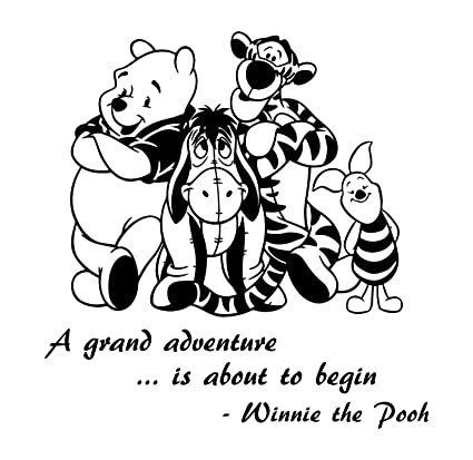 Amazoncom Winnie The Pooh Friends Wall Decal Is A Vinyl