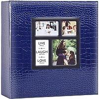 Benjia álbum de Fotos álbum deslizable 10 x 15 500 Fotos Croco, álbum de Fotos Familiar de Boda Grande de Cuero Vintage…