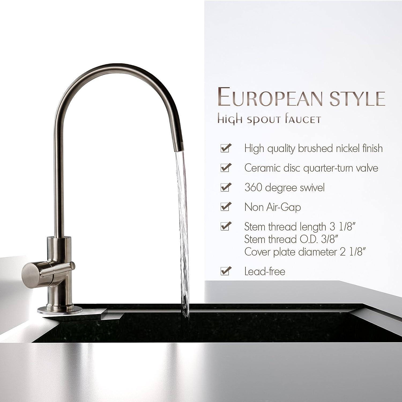 iSpring GA1-BN RO Faucet European style