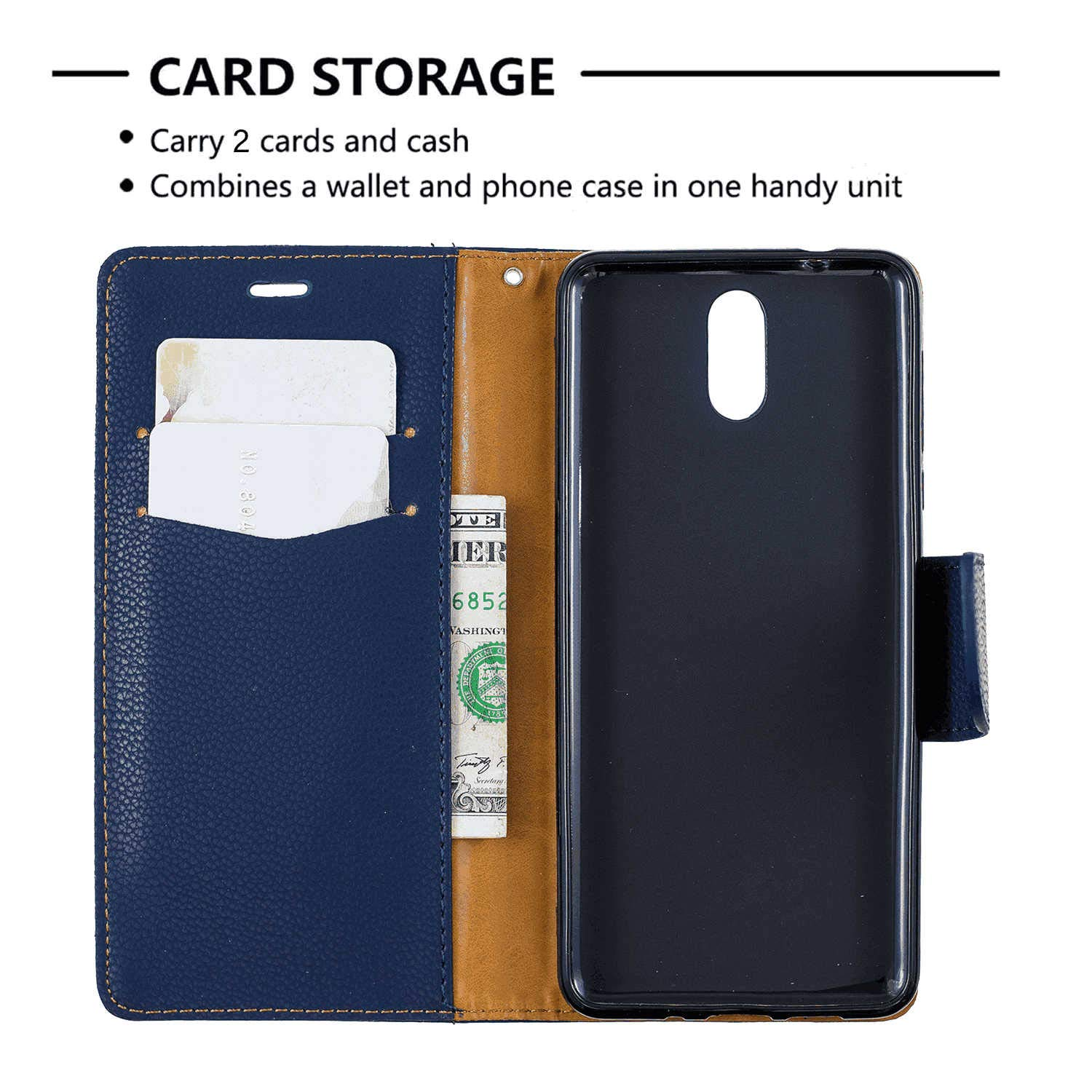 Cover for Leather Wallet case Card Holders Kickstand Extra-Shockproof Business Flip Cover Samsung Galaxy S10 Plus Flip Case
