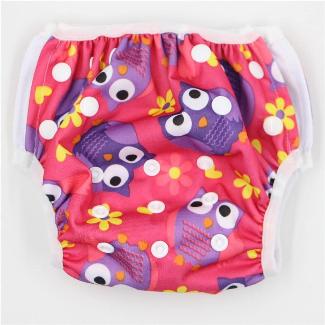 Coerni Baby Swim Diaper Short Trunks Reusable Adjustable for 0-3 Years
