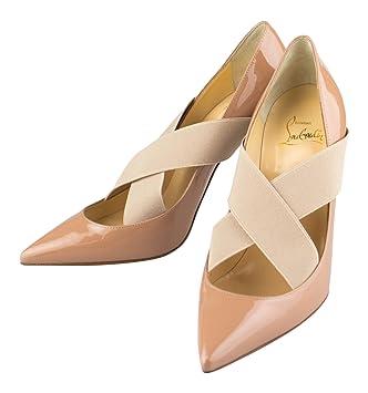 f7299a936e6 CHRISTIAN LOUBOUTIN Nude Sharpstagram Pumps Heels Shoes 11 US 41 EU ...