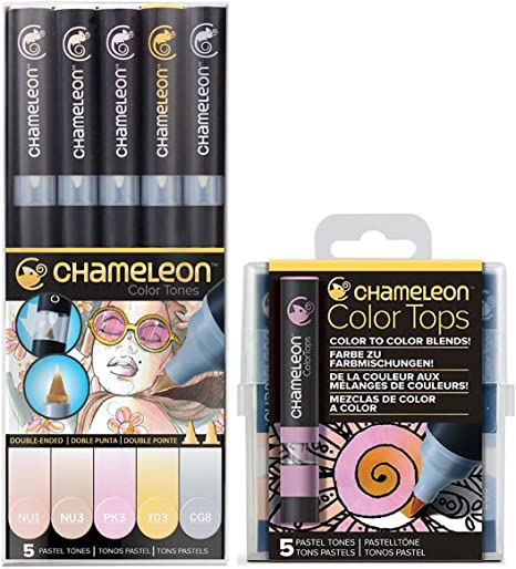 Chameleon Art Products Pack of 2 22-Pen Deluxe Set