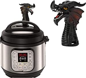 Fire-Breathing Dragon Steam Release Accessory, Steam Diverter for Instant Pot Pressure Cooker Kitchen Supplies (1)