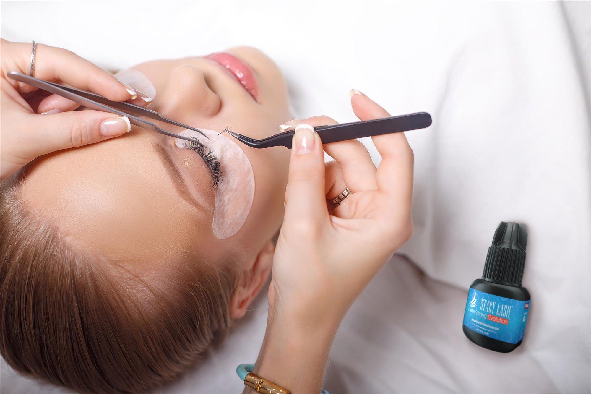 Extra Strong Evolution Eyelash Extension Glue Stacy Lash 5 Ml 1 2