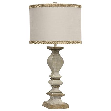 Amazon.com: Delacora SC-L314252 Chrysta - Lámpara de mesa ...